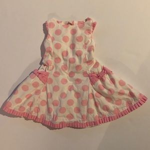 5b3564066c004b Lilly Wicket · Adorable pink and white dress